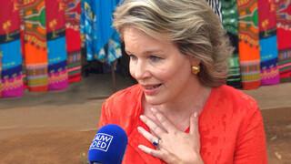 Blauw Bloed Interview met koningin Mathilde