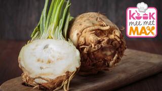 Kook Mee Met Max - Knolselderijpuree Met Gebakken Kabeljauw En Romige Prei