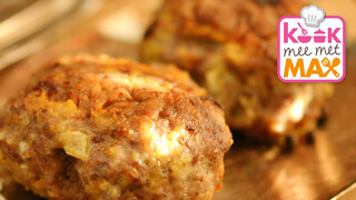 Kook Mee Met Max - Groene Koolstamp Met Speculaas-gehaktballetjes