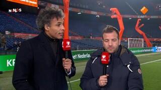 Nos Ek-kwalificatie Voetbal - Nos Voetbal Ek-kwalificatie Nederland - Duitsland, Eerste Helft