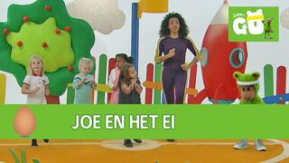 Zappelin Go Joe en het ei