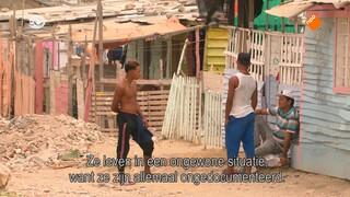 Metterdaad Venezolaanse vluchtelingen