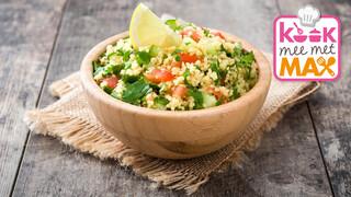 Kook mee met MAX Kruidige tabouleh met sardines