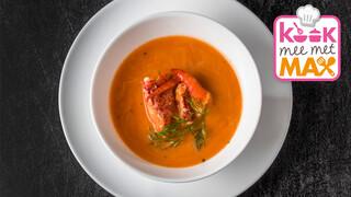Kook mee met MAX Snelle vissoep