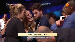 Eurovisie Songfestival Eurovisie Songfestival 2019 finale - Winnaars Podium