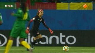 Nos Wk Voetbal - Nos Fifa Wk Voetbal (v) 2019, Nieuw-zeeland - Nederland Eerste Helft