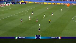NOS WK Voetbal NOS FIFA WK Voetbal (v) 2019, Jamaica - Australië of Italië - Brazilië 2de helft