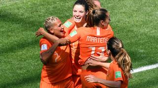 NOS WK Voetbal Verenigde Staten - Nederland tweede helft