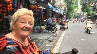 Erica op Reis Vietnam