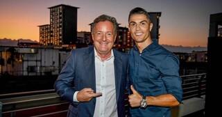 Piers Morgan Ontmoet... - Piers Morgan Ontmoet Cristiano Ronaldo