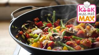 Kook Mee Met Max - Eenvoudige Wok Met Kip En Groente