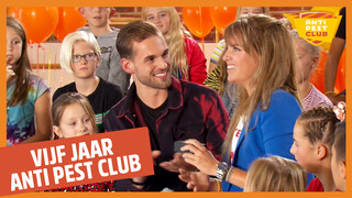 Zapp Anti Pest Club Vijf jaar Anti Pest Club