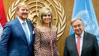 Blauw Bloed Máxima viert 10-jarig jubileum VN-werk