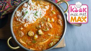 Kook Mee Met Max - Gumbo