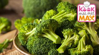 Kook mee met MAX Broccolistamppot met zalm uit de oven