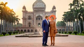 Blauw Bloed Koningspaar brengt staatsbezoek aan India