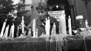 Kruispunt Revolutie van kaarsen
