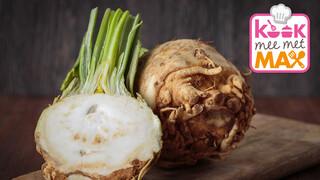 Kook Mee Met Max - Penne Met Knolselderij Uit De Oven En Gerookte Zalm