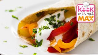 Kook mee met MAX Fajita's
