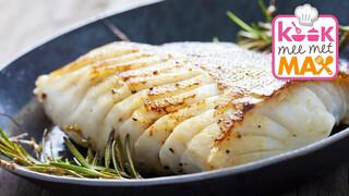 Kook Mee Met Max - Kabeljauw Met Mosterd-roomsaus En Geroosterde Pompoen
