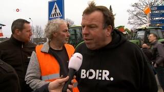NOS Journaal 13.00 uur (Nederland 2) NOS Journaal Boerenprotest
