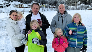 Ik Vertrek Familie Hammink in Oostenrijk