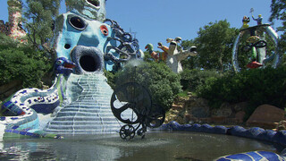 Close Up Niki de Saint Phalle - De droom van een architect