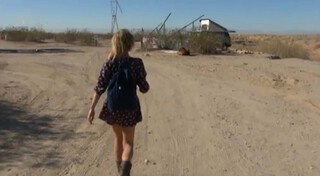 Lauren! - Slab City