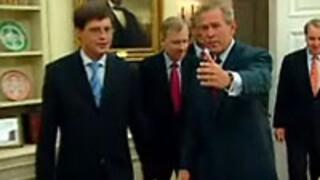 Op bezoek bij George W. Bush