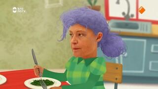 Knofje (animatie) De nieuwe baby