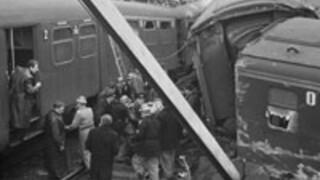 50 jaar treinramp Harmelen
