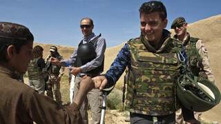 Jan Smit in Afghanistan