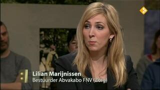 Buitenhof Lilian Marijnissen, Klaas de Vries, Thijs Kleinpaste