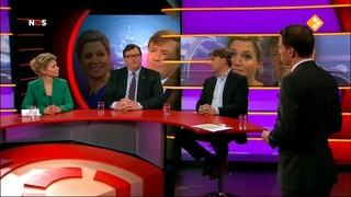 NOS Willem-Alexander en Máxima, het nieuwe koningspaar