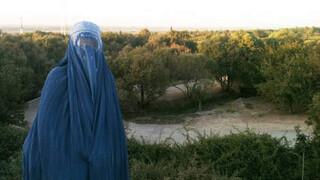 Natalie Righton in Afghanistan