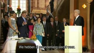 NOS Koningspaar in Duitsland