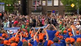 NOS Provinciebezoeken Koning Willem-Alexander en Koningin Máxima Flevoland en Overijssel