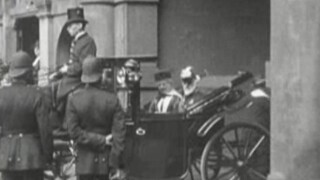 Opening der Staten-Generaal 1918 (kabinet Cort van der Linden)