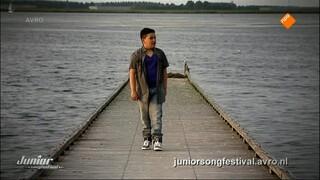 Junior Songfestival Ik ben verliefd - Kim