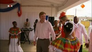 NOS Koningspaar in... NOS Koningspaar in Nederlandse Cariben