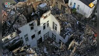 Dit gezin is al hun bezittingen kwijtgeraakt tijdens de vuurwerkramp in Enschede.