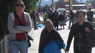 Onverwacht bezoek voor Bregje in Peru