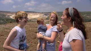 Onverwacht bezoek voor Nicoline in Israël