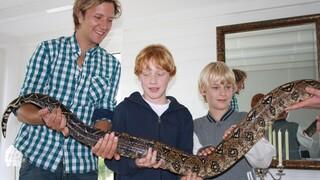 De Gilfactor Mels, Sem en de slangen