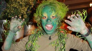 De Gilfactor Jim als vleesetende plant