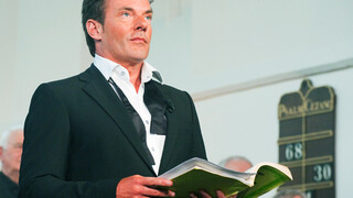 Gerard Joling en Annick Boer oefenen hun sologedeelte