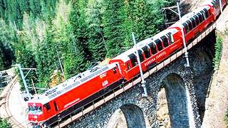 Rail Away Zwitserland, Bernina Express: Pontresina - Tirano