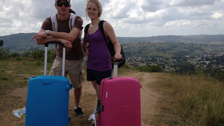 Ankie en Rob in Swaziland