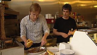 Melk en Honing Broodje vleesloze shoarma