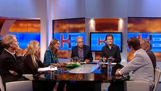 Knevel & Van den Brink Martin Visser, René en Mariska Smit, Brecht van Hulten en Carel ter Linden